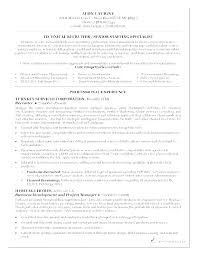 Senior Resume Examples Stunning Recruiter Resume Example Llun