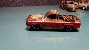 Hot Wheels - Custom Hot Wheels Truck rust patina- 1982 Chevy ...