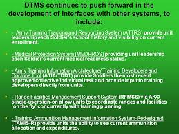 digital training management system dtms v ppt