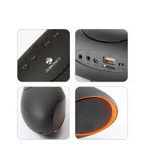 infinity one bluetooth speaker. zebronics infinity bt017ucf portable bluetooth speaker - black one b
