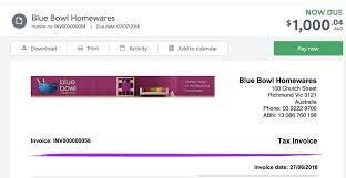Make Invoices Online Online Payments Myob Accountright Myob Help Centre