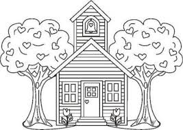 Small Picture Preschool Coloring Pages School House Image Gallery HCPR