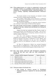 kannur university self study report for naac accreditation cycle i 45