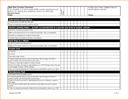Examples Of Checklists In Word It Resume Cover Letter Sample