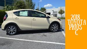 Get greener with the 2018 Toyota Prius c | Toyota of Orlando Blog