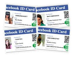 Make Your Own Identification Card Create Your Facebook Id Card Find Facebook Id