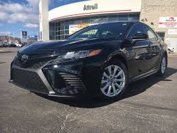 camry 2018 black. black[midnight black metallic] 2018 toyota camry xse standard package b11hst am left front