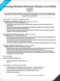 Student Nurse Resume Template Magnificent Best Rn Resume Ideas On Pinterest Nursing Cv Registered New Grad