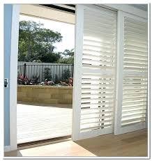 shutters sliding glass door plantation shutters sliding door track intended for track shutters for sliding
