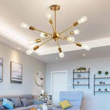 Contemporary LED <b>Nordic Luster Creative</b> Long Chandelier for ...