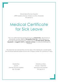 Medical Certificate Template Medical Certificate For Employment Sample New Medical Certificate 4