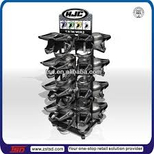 Helmet Display Stands Best China Customized Safety Helmet POS Display Stand Rack Ideas