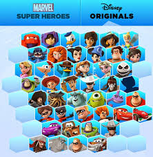 infinity list. there are ten additional spaces on the disney originals list. if we count up new characters that have been announced: mulan, mikey mouse, minnie infinity list i