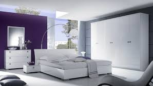 white and grey bedroom furniture. Image Of: Clean White Full Size Bedroom Furniture And Grey
