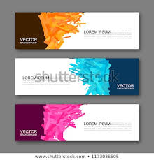 free banner backgrounds vector graphic design banner backgrounds three stock vector royalty