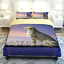 animal print duvet cover animal cheetah print bedding sets twin queen king size stitching duvet cover animal print