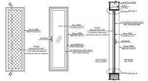 glass door detail page 1 line 17qq com