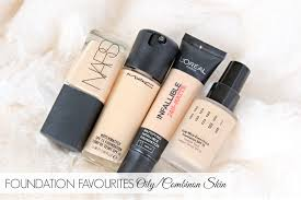 foundation favourites for oily bination skin tuesday 12 may 2016