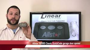 allstar garage door openerAllstar 110995 Classic QuickCode garage door opener  www