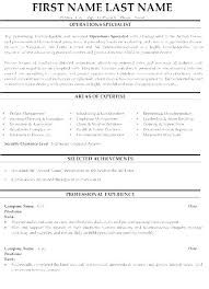 Law Enforcement Resume Template Mesmerizing Law Enforcement Resume Template Sample Resumes Letsdeliverco