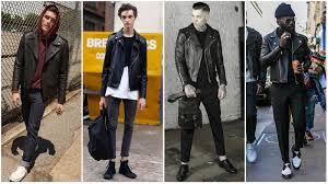 biker jacket men