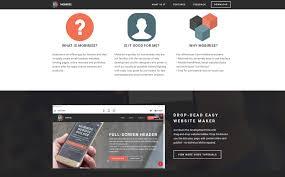 Online Menu Creator Mobirise Bootstrap Website Creator Review