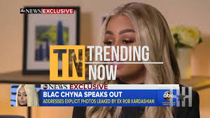 Blac Chyna Tells All On GMA Rob Betrayed Me Trending Now.