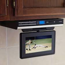 Coby Under Cabinet Radio Under Cabinet Tv Adds Superior Richness To Your Kitchen Life
