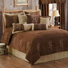 bedspread camouflage bedding sheets and comforters camo trading buckmark suede collection navy blue white comforter