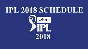 Ipl Match Predictions 2018 Ipl Schedule Ipl Teams