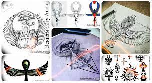 эскизы тату анкх коллекция рисунков для тату фото значение