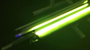 worlds first photonic lightsaber string blade using 12mm leds