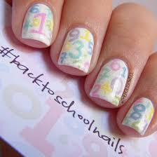 Nail Art Idea: cute nail art for school