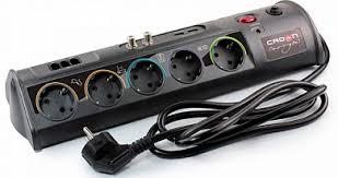 Купить <b>Сетевой фильтр CROWN</b> CMPS-10, 10 розеток, 1.8 м ...