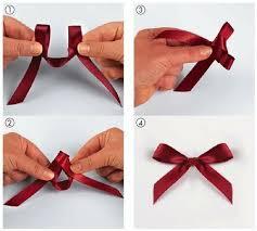 tie a simple bow .