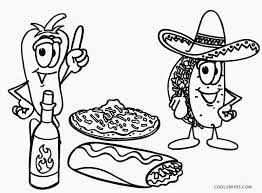 Food Coloring Pages Free Printable For Kids Cool2bkids