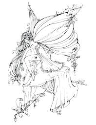 Fairy coloring pages for kids. Coloring Pages Fairy Pictures Whitesbelfast
