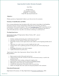 Cashier Duties For Resume Resume Cashier Description For Resume