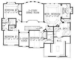 floor plans aflfpw22482 2 story new american home with 5 Coastal Traditional House Plans vanderbilt house plan floor plan, traditional style house plans, master down house plans coastal traditional home plans side garages