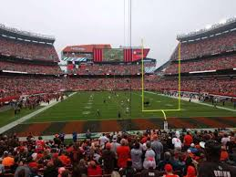 Cleveland Browns Stadium Seating Chart View Firstenergy Stadium Section 146 Home Of Cleveland Browns