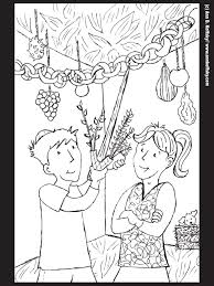 Small Picture Coloring Pages Attractive Sukkot Coloring Pages Sukkot Coloring