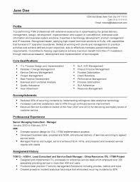Data Management Resume Sample Lead Business Analyst Resume Sample New Resume Clinical Data