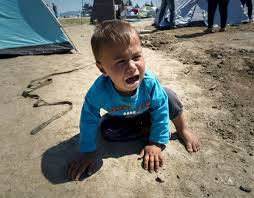 Image result for pic of kidnapped children of asylum seekers