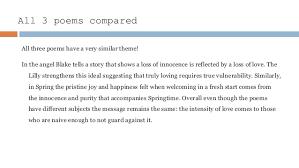 william blake an analysis of poems  spring analysis 20