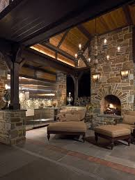 Open Stone Fireplace Inspired Stone Natural Stone Veneer Canada Outdoor Fireplace Ideas