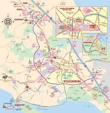 williamsburg virginia map  williamsburg virginia • mappery