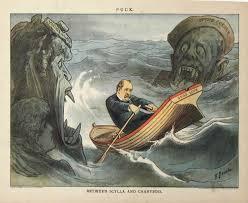 between scylla and charybdis puck november 26 1884 by f graetz