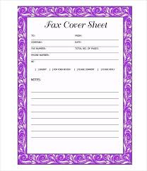 Free Fax Cover Sheet Template Word Doc Letter Example Simple Format ...