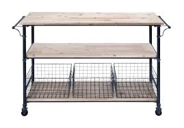 kitchen island cart industrial. Kitchen Island Cart Industrial Amazon Com Metal Wood With Basket By Inch Within T