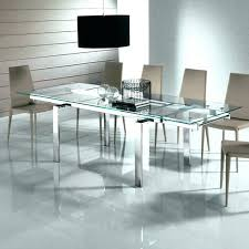 contemporary dining tables extendable round glass extending dining table adorable large glass dining tables create modern